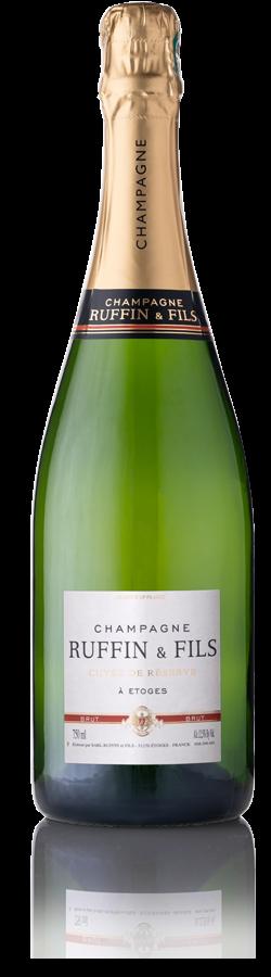 Cuvée de Réserve, Champagne Ruffin & Fils