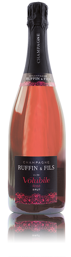La Cuvée Volubile Rosé, Champagne Ruffin & Fils